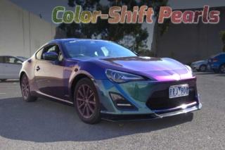 Color-Shift Pearl, Chameleon Paint