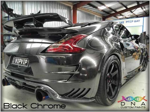 Black Chrome Paint