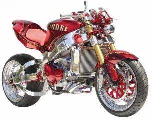 DNA™ Mutant CrystalZ™ - on Custom bike