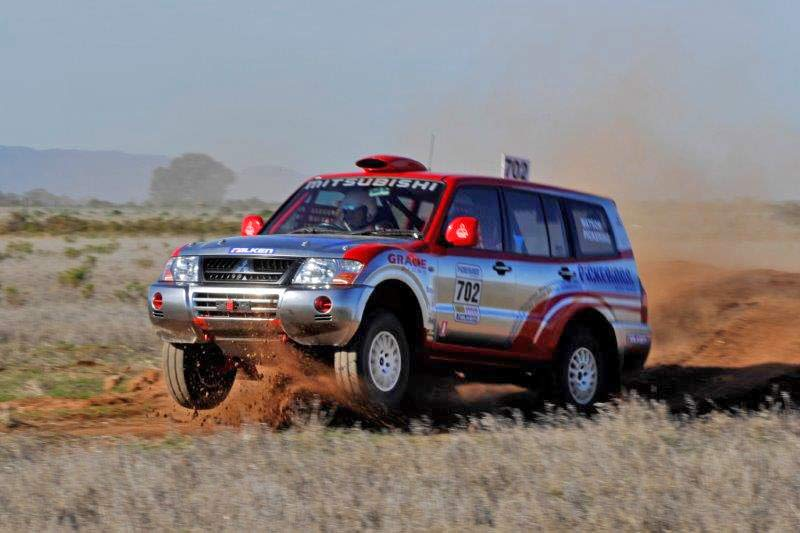 DNA™ Virtual Chrome™ - on Mitsubishi Rally Car