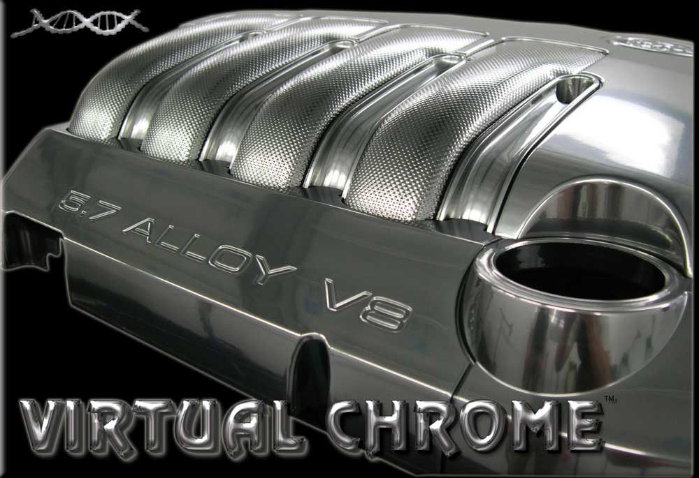 Virtual Chromed engine cover