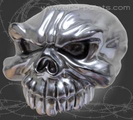 Virtual Chrome - DNA Resin Skull