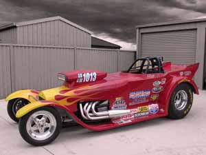 Molten Red by Fast Lane Speed Shop