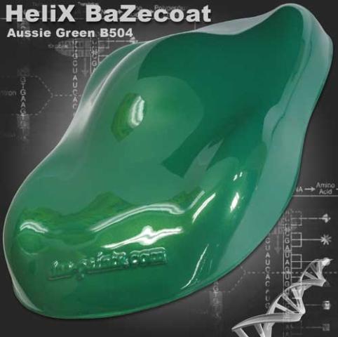 HeliX BaZecoat - Aussie Green