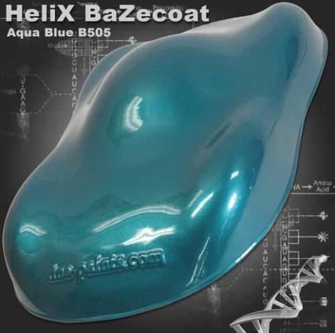 HeliX BaZecoat - Aqua Blue
