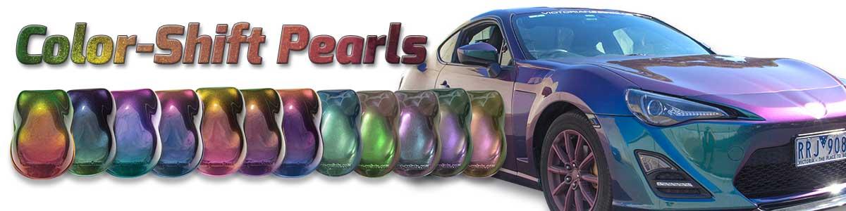 Color Shift Pearls Dna Custom Paints