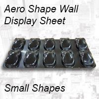 Aero Shape  wall display - Small