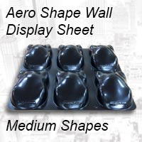 Aero Shape  wall display - Medium