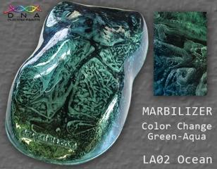"""Marbilizer LA02 Ocean """"Green to Aqua"""""""