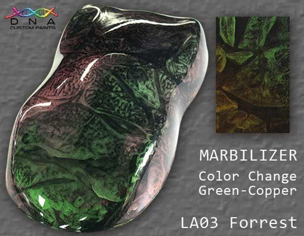 """Marbilizer LA03 """"Forrest"""" Green to Copper"""