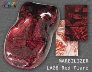 """Marbilizer LA08 """"Red Flare"""""""