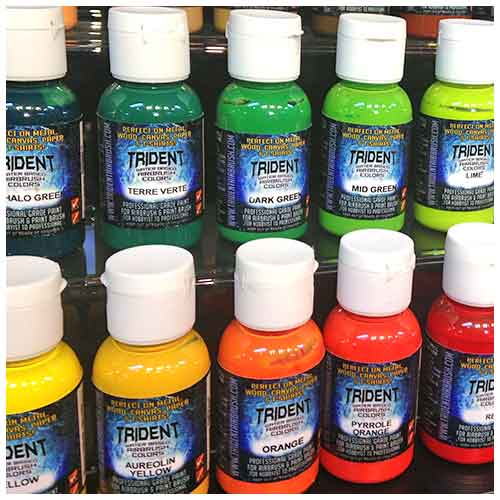 TRIDENT Airbrush Colors - Shop